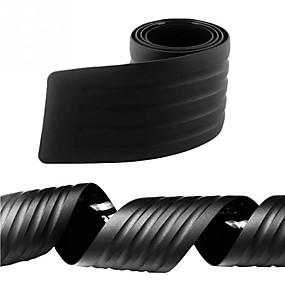 voordelige Autobumper decoratie-90cm-auto suv zwart crashbestendig portierbeschermer bumperbeschermer afdekplaat