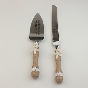 cheap Serving Sets-Resin / Steel Stainless Wedding / Birthday 1 set / PP Bag Knives / Shovel / Bakeware