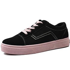 voordelige Damessneakers-Dames Sneakers Platte hak Ronde Teen Canvas Zomer Roze en Wit / Zwart / groen / Wit en Paars