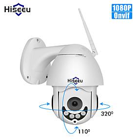 halpa IP-verkkokamerat sisäkäyttöön-hiseeu 1080p ptz ip kamera ulkona vedenpitävä mini nopeus dome kamera 2mp väri yö visio ip cctv turvallisuus kamera p2p whd712