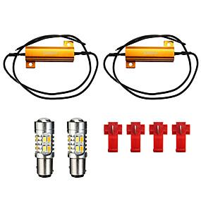 billige Nyankomne i oktober-5730 1157 led blinklys lyspære dobbel farge 20-smd switchback motstand
