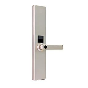 hesapli Kapı kilidi-Factory OEM R155 Çinko Alaşım Kilit / Parola Parmak İzi Kilidi / Akıllı Kilit Akıllı Ev Güvenliği Android sistem Parmak izinin kilidini aç / Şifre kilidini aç Ev / Ofis / Otel Tahta kapı (Kilit Açma