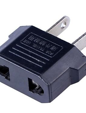 preiswerte Audio & Video Zubehör-EU / AU / UK Buchse auf US-Stecker Wechselstrom-Zwischenstecker (2,5 ~ 250V)