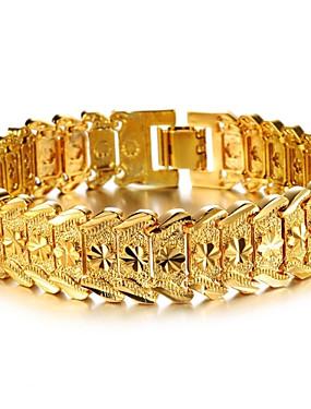 voordelige Manchet Armband-Dames Cuff armbanden Armband Dames Stijlvol Dubai Verguld Armband sieraden Voor Bruiloft Feest Evenement / Feest Dagelijks gebruik Dagelijks Causaal
