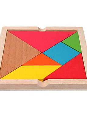 povoljno Igračke i hobiji-Colorful Wooden Variety Large Building Blocks Puzzle Toys