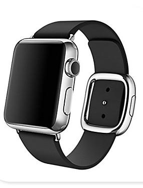 رخيصةأون عصابات Smartwatch-حزام إلى Apple Watch Series 4/3/2/1 Apple بكلة عصرية جلد طبيعي شريط المعصم
