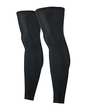 ieftine Sport i aktivnosti na otvorenom-1 Pair Arsuxeo Leg Warmers Culoare solidă Ușor Cremă Cu Protecție Solară Rezistent la UV Bicicletă Negru Gri Verde Deschis Poliester Elastan Iarnă pentru Bărbați Pentru femei Adulți Bicicletă șosea