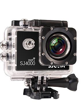 povoljno Sport és outdoor-SJCAM SJ4000 WIFI Akcija kamere / Sports Camera GoPro Rekreacija na otvorenom Vlogging Vodootporno / Wifi 32 GB 8 mp / 5 mp / 3 mp 4X 1920 x 1080 Pixel 1.5 inch CMOS H.264 30 m ± 2 EV / iPhone iOS