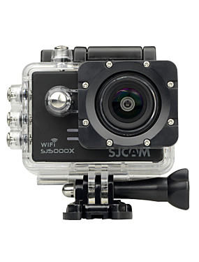 cheap Sports & Outdoors-SJCAM SJ5000X Sports Action Camera Gopro Gopro & Accessories Outdoor Recreation vlogging Waterproof / WiFi / Anti-Shock 128 GB 60fps / 120fps / 30fps 12 mp 8x 4000 x 3000 Pixel Surfing / Road Cycling