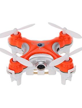 ieftine Lichidare Stoc-RC Dronă Cheerson CX-10c RTF 4CH 6 Axe 2.4G Cameră HD 0.3MP 480P Quadcopter RC Zbor De 360 Grade / Cameră Quadcopter RC / Telecomandă