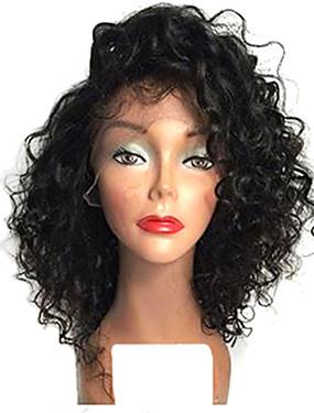 8b1ddf74465e4 رخيصةأون باروكات ووصلات شعر-الدانتيل الجبهة الباروكات الاصطناعية مجعد أسلوب  Bobfrisyre دانتيل في الأمام شعر