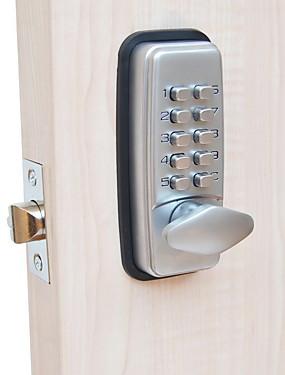 tanie Ochrona i bezpieczeństwo-304 Stal nierdzewna Zamek na hasło Inteligentne bezpieczeństwo domowe System Dom / Apartament / Hotel Drzwi bezpieczeństwa / Drewniane drzwi / Drzwi złożone (Tryb odblokowania Hasło)