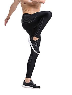 رخيصةأون رياضة والخارجية-Vansydical® رجالي رياضات كلاسيكي طماق قيعان لياقة بدنية ألبسة رياضية سريع جاف قابل للبسط
