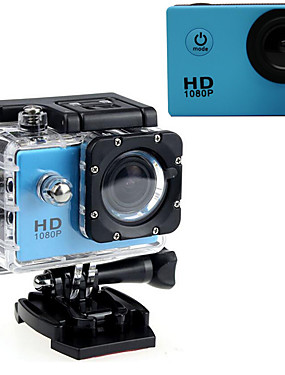 cheap Sports & Outdoors-Sports Action Camera Gopro Gopro & Accessories Outdoor Recreation vlogging Waterproof / USB / Adjustable 32 GB 60fps 16 mp No 640 x 480 Pixel / 1920 x 1080 Pixel / 1280 x 720 Pixel Diving / Surfing