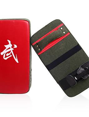 povoljno Sport és outdoor-Boks i Borilačke vještine za pisanje Boksačke rukavice Za Taekwondo Boks Stručni Razina Brzina Izdržljivost PU 1 pcs Crn Red