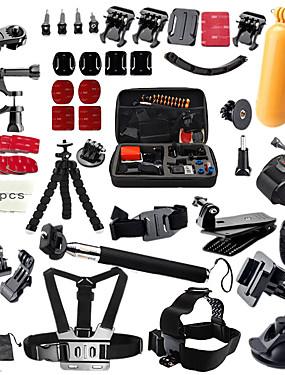 billige Sport og friluftsliv-Tilbehør Høy kvalitet Til Action-kamera Gopro 6 Alle Gopro 5 Gopro 4 Silver Gopro 3+ Sports DV SJCAM SJ7000 SJ5000 SJ4000 SJCAM 1