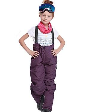 povoljno Sport és outdoor-Djevojčice Skijaške hlače Vjetronepropusnost Toplo Brzo kemijska Skijanje Snowboarding Zimski sportovi Pamuk Poliester Hlače Snježni prsluk Skijaška odjeća / Zima / Vodootporni patent