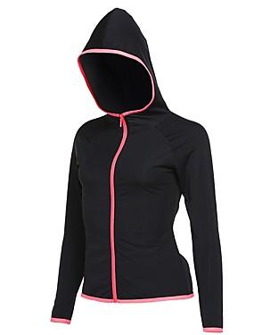 billige Sport og friluftsliv-Alle T-skjorte til jogging sport Bomull Genser Trening Treningsøkt Trene Langermet Sportsklær Fort Tørring