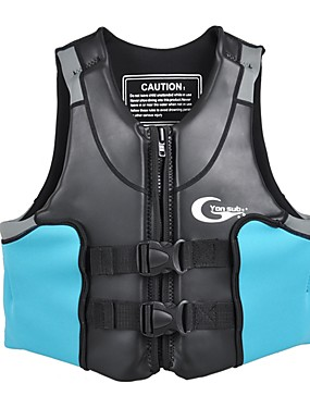 povoljno Sport és outdoor-YON SUB Jakna za spašavanje Plivanje Jedrenjak Neopren Plivanje Ronjenje Surfanje Majice za Odrasli