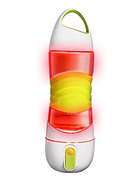 povoljno Sport és outdoor-0.6 L Sjaji u mraku Anti-Slip BPA Hitna rasvjeta za 1 osoba Silicon PP + ABS Vanjski Bicikl Putovanje Trčanje Zelen Pink Siva