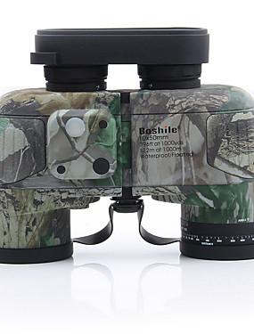 abordables Deportes y Ocio-10 X 50 mm Binoculares Lentes Otro Pro Ocultación Revestimiento Múltiple Completo BAK4 Camping y senderismo Casual Caza y Pesca Recubierto Caucho natural Caucho / IPX-6K / IPX-7 / Telemetría