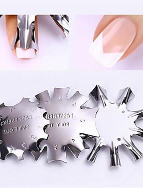 voordelige Ander Gereedschap-3 stuks Roestvast staal Nail Art-boorset Voor Multi Function / Duurzaam Nagel kunst Manicure pedicure modieus / Modieus Dagelijks