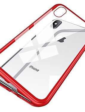 levne Telefony a příslušenství-Carcasă Pro Apple iPhone XR / iPhone XS Max Nárazuvzdorné / Magnetické Celý kryt Jednobarevné Pevné Kov pro iPhone XS / iPhone XR / iPhone XS Max