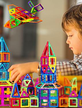 billige Leker og hobbyer-Magnetisk blokk Magnetiske fliser Magnetiske leker 30 pcs kompatibel Legoing Magnetisk Gutt Jente babyer Leketøy Gave / Byggeklosser