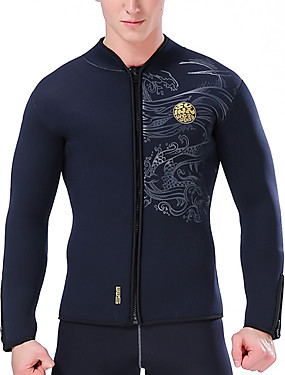 povoljno Sport és outdoor-SLINX Muškarci Mokro odijelo - majica Mokro odijelo - jakna 5mm Neopren Majice Dugih rukava Ronjenje