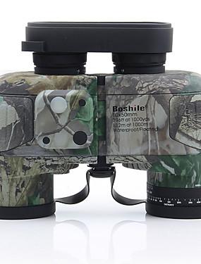 رخيصةأون رياضة والخارجية-10 X 50 mm مناظير جهاز تحديد المدى بورو ضد الماء دقة عالية مقاومة الصدمات تغطية متعددة كاملة BAK4 أزرق ليلة الرؤية مطاط معدن / IPX-7 / الصيد / الطيور تراقب