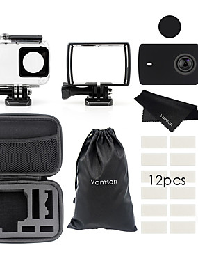 billige Sport og friluftsliv-Vanntett beholder Etui Vanntett Veske Til Action-kamera Xiaomi Kamera Dykning / Lystsejlads Reise Vindsurfing ABS + PC