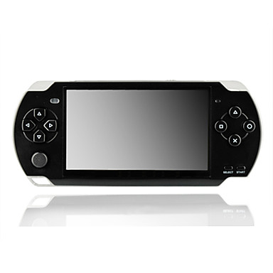 4,3 polegadas TFT LCD estilo de jogo psp mp4 player (4GB)