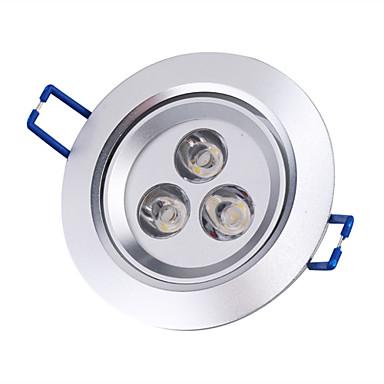 3000lm Stropní světla Zápustná světla Zápustná 3 LED korálky High Power LED Teplá bílá 85-265V