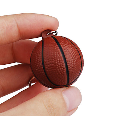 Key Chain Basketball Key Chain Flexible Resin Plastic