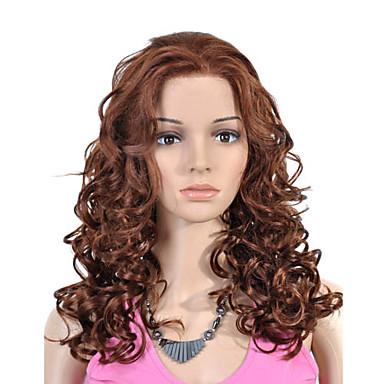 Sentetik Dantel Ön Peruk Yoğunluk Kadın's Karnaval Peruk Cadılar Bayramı Peruk dantel Peruk Sentetik Saç