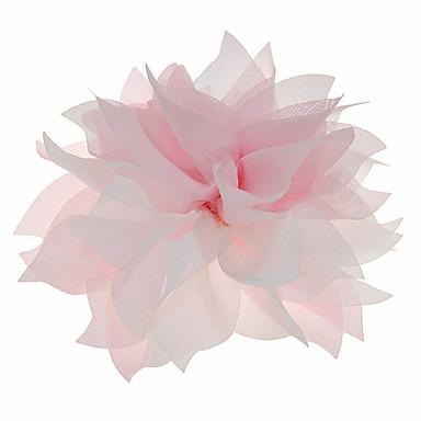 linda flor de noiva chiffon casamento / corpete / headpiece
