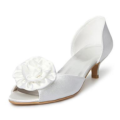AKULINA - Открытый носок Свадьба Для невест Рюмочка Сатин