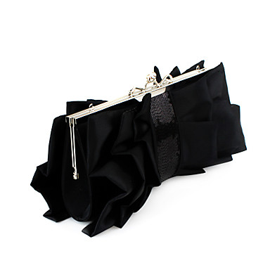 Gorgeous Satin Shell Evening Clutches More Colors Available