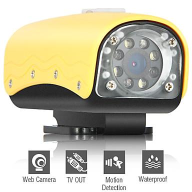 Bartle Фрер - HD Mini водонепроницаемый активных видов спорта камера с детектором движения + 120 градусов широкоугольным