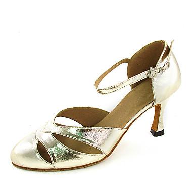 sapatas latin ballroom / moderno couro sapatos de dança superior para as mulheres mais cores