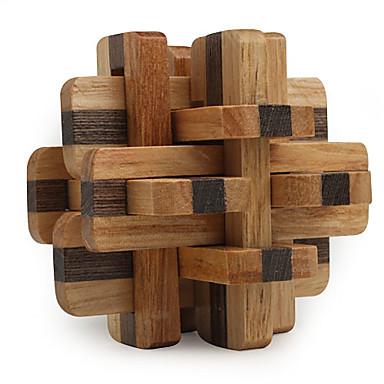 Magické kostky Dřevěné puzzle Hlavolamy profesionální úroveň Rychlost Dřevěný 12pcs Klasické & nadčasové Chlapecké Dárek