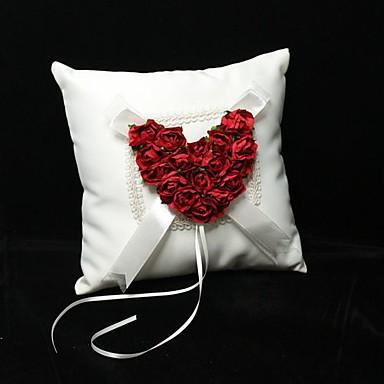 Petal Satiini Ring Pillow Puutarha-teema Kevät / Kesä / Syksy