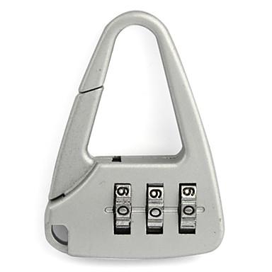 Lokot za prtljagu Lokot sa šifrom 3 Broj Protiv krađe kodirana brava Dodatak za prtljagu Mini Veličina Za Prtljaga