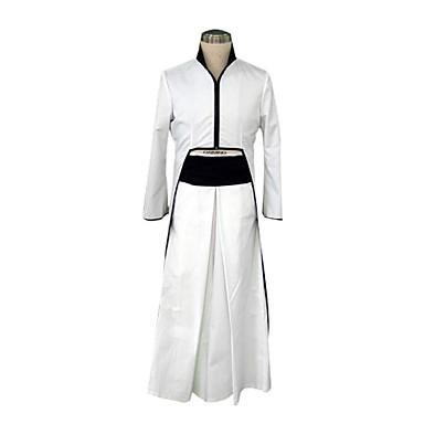 Εμπνευσμένη από Στολές Ηρώων Στολές Ηρώων Anime Στολές Ηρώων Κοστούμια Cosplay / Κιμονό Patchwork Μακρυμάνικο Επίστρωση / Ζώνη / Hakama pants Για Ανδρικά