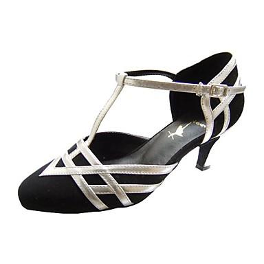 muokata suorituskyvyn tanssikengät keinonahka / velvet ylemmän moderni kenkiä naisille
