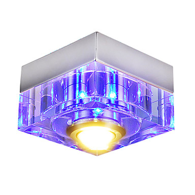 LED Flush Mount in Blue Color