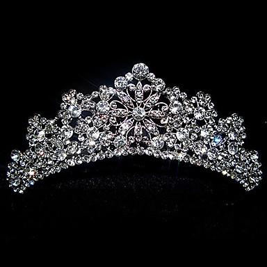 Delicate Antique Silver Tiara