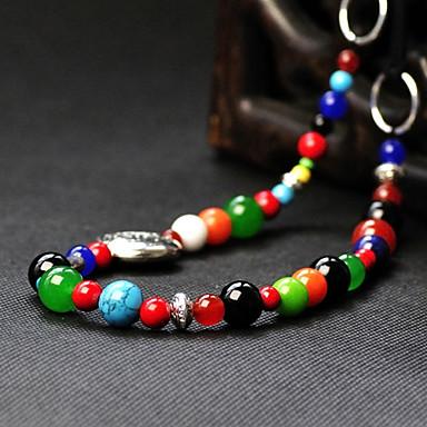 Stammes-farbigen Perlen-Halskette