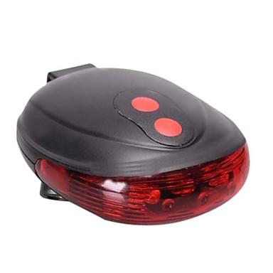 Světla na kolo Zadní světlo na kolo Laser LED Laser Cyklistika Voděodolné AAA Lumenů Baterie Cyklistika
