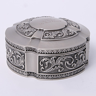 personalizate vintage tutania rotund bijuterii caseta clasic stil feminin